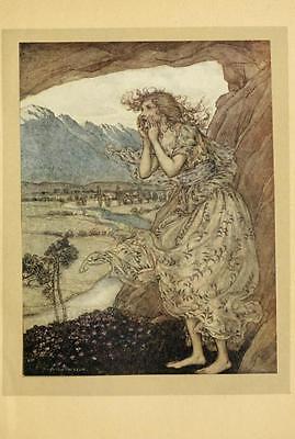 41 Vintage Arthur Rackham Illustrated Childrens Books - Dvd! Fairy Tales Fantasy 2