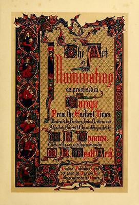 123 Rare Books On Dvd - Illuminated Manuscripts Illumination Medieval Art Artist 2