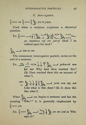 Egyptian Hieroglyphics - 145 Old Books On Dvd - Ancient Egypt Language Writing
