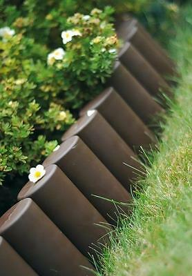 Plastik Garten Zaun Rasen Palisade Baumumrandung Beeteinfassung Rasenkante KRA-T