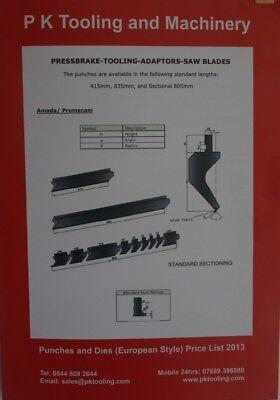 Model 20.170 Press Brake Tooling New Twin Vee Die 16 /& 20mm x 60 degree
