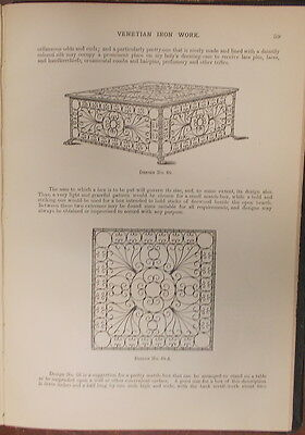 1895 ITALIAN VENETIAN IRON WORK Illustrated  METROPOLITAN HANDY SERIES 4