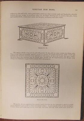 1895 ITALIAN VENETIAN IRON WORK Illustrated  METROPOLITAN HANDY SERIES 4