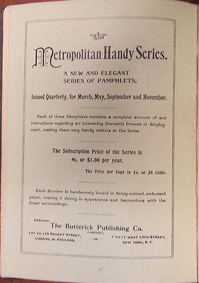 1895 ITALIAN VENETIAN IRON WORK Illustrated  METROPOLITAN HANDY SERIES 5