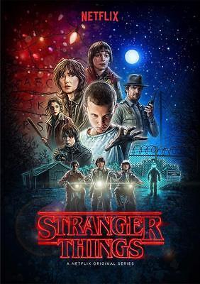 Stranger Things Poster Print - A5 A4 A3 A2 A1 A0 2