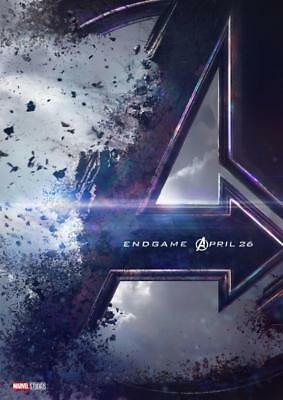 Avengers Endgame Teaser Poster A5 A4 A3 A2 A1 2