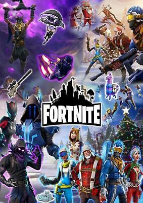 Fortnite Game Poster A5 A4 A3 A2 A1 2