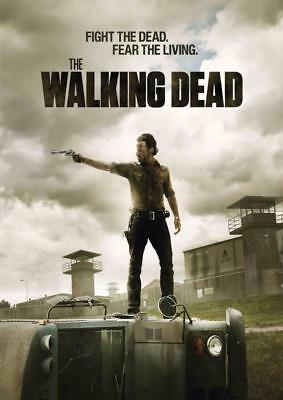 BUY 2 GET 3RD FREE THE WALKING DEAD TV SHOW Cast POSTER ART PRINT TWD06 A4 A3