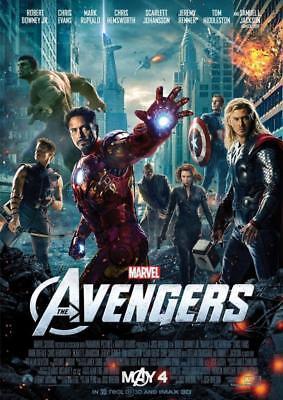 Avengers Assemble 2012 Movie Poster A5 A4 A3 A2 A1 2