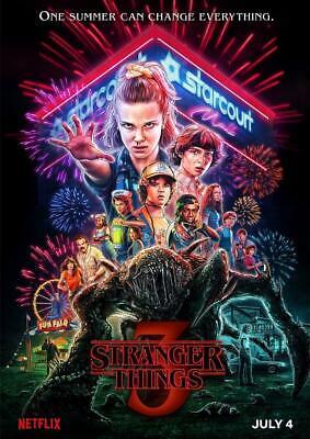 Stranger Things Season 3 Poster A5 A4 A3 A2 A1 2