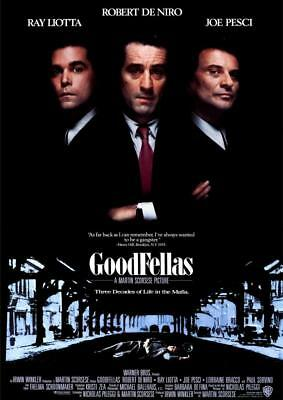 Goodfellas 1990 Movie Poster A5 A4 A3 A2 A1 2