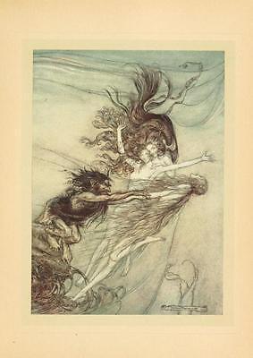 41 Vintage Arthur Rackham Illustrated Childrens Books - Dvd! Fairy Tales Fantasy 11