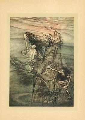 41 Vintage Arthur Rackham Illustrated Childrens Books - Dvd! Fairy Tales Fantasy 12