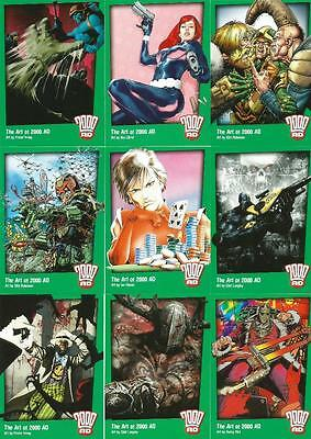 Able Judge Dredd Complete Base Collection Collector Cards Complete Trading Card Sets Non-sport Trading Cards