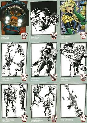 2000AD Judge Dredd Promo Trading Card Selection from Strictly Ink 2008