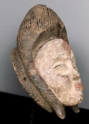 Old Tribal Large  Tribal Punu Maiden Spirit   Mask    --   Gabon BN 42 2