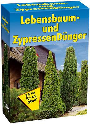 # 10 kg LEBENSBAUM & ZYPRESSENDÜNGER,Koniferen,Dünger,Tannen,Nadelbaum 4x 2,5kg 3
