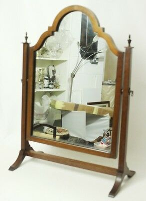 Antique Victorian Mahogany Dressing Table Swing Mirror - FREE Shipping [PL4583] 6