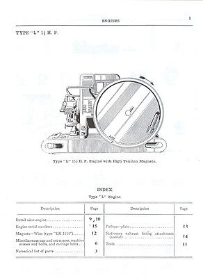 ihc l gas engine parts manual mccormick deering international ihc l gas engine parts manual mccormick deering international harvester 2