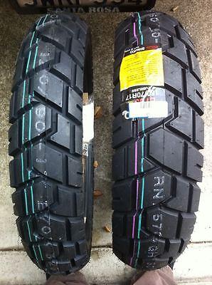 Shinko E705 Dual Sport Pair 150/70-17 & 110/80-19 Tyres SUZUKI V-STROM YAMAHA