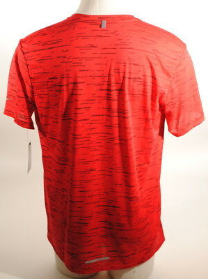Details about Nike Men's Dri FIT TAILWIND Printed RUNNING SHIRT University Red Sz. M E1A