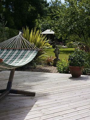 Garden timber decking complete base deck kit pack x 1 for Garden decking kits uk