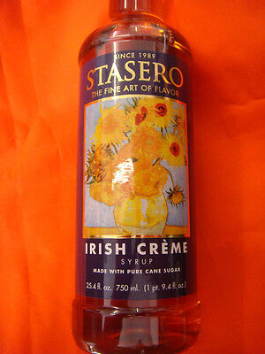 IRISH CREAM 750ml COFFEE-FLAVOURING and COCKTAIL-FLAVOURING SYRUP BOTTLE NEW 2