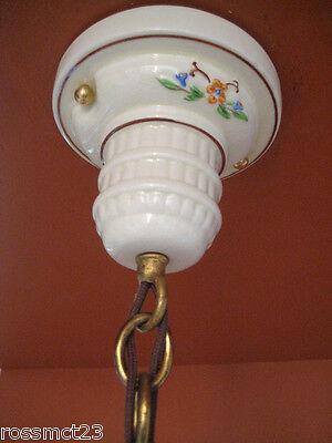 Vintage Lighting four 1930s Porcelier lights incl. pair sconces   Kitchen Bath 5