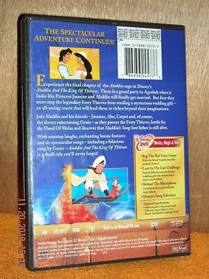 Aladdin and the King of Thieves (DVD, 2005) Scott Weinger, Robin Williams DISNEY 2