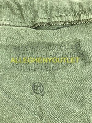 US Army Military Barracks Bag, Cotton Large Laundry Duffle Tote Storage Bag FAIR 5