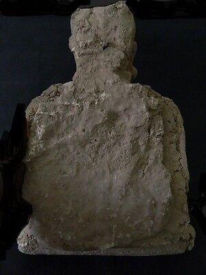 Ancient Huge Size Stucco Sitting Bodhasattva Gandhara/Gandharan 200 AD  #IK846 11