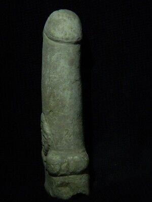 Ancient White Stone Linga/Lingum Hindu Shahi 700 AD #CCH15 6