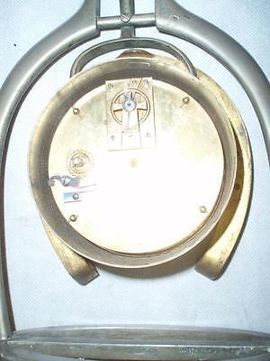 Antique Trophy Stirrup Clock. by H.GRAVES NEW St BIRMINGHAM. 6