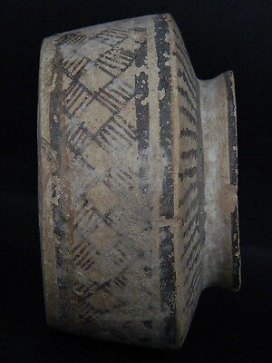 Ancient Teracotta Painted Pyxis Indus Valley 2500 BC No Reserve  #PT15040
