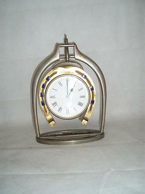 Antique Trophy Stirrup Clock. by H.GRAVES NEW St BIRMINGHAM. 2