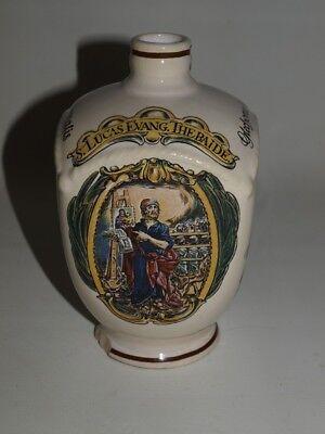 Alte Ulmer Keramik Flasche, Apothekerflasche Apothekergefäß Krug 6