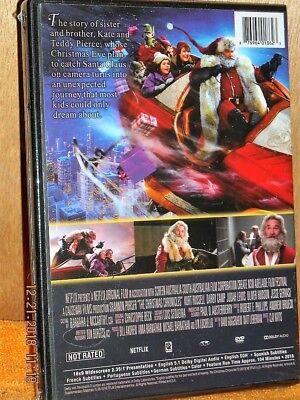 The Christmas Chronicles 2018 Dvd Cover.The Christmas Chronicles Dvd 2018 Ne Kurt Russell Capture Santa Claus On Xmas