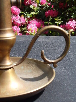 unusual  vintage French brass candlestick (C86)********************** 8