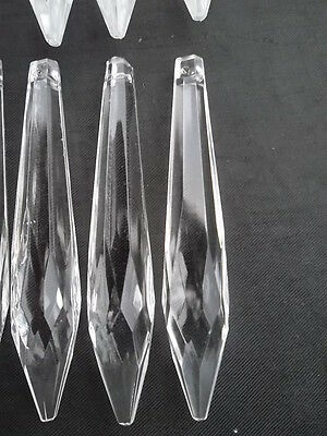 10 lovely glass icicle chandelier drops(D277) 6