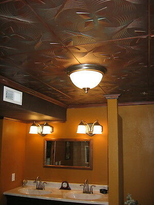 Tin Look Faux Ceiling Tiles 20x20 Diffe Colors 2