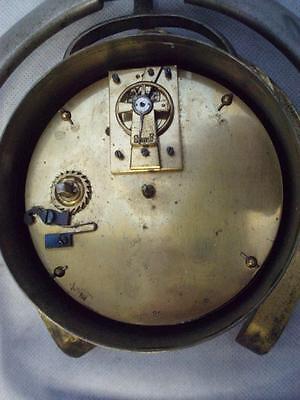 Antique Trophy Stirrup Clock. by H.GRAVES NEW St BIRMINGHAM. 10