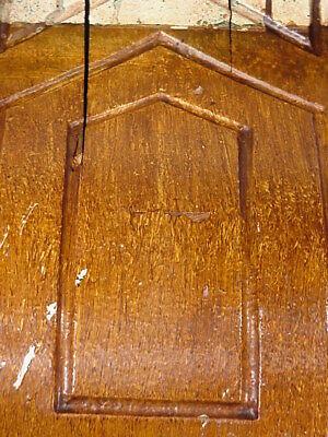 Antique Sconce Hand Carved Architectural Wood Bracket Art Deco Corbel Pediment 9
