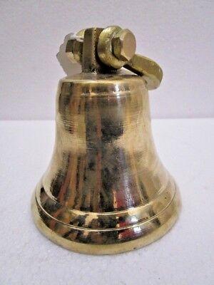 Brass BELL - Brass Made - 1 Kilo - Great Sounding - Boat / Nautical / Maritime 2