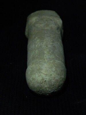 Ancient White Stone Linga/Lingum Hindu Shahi 700 AD #CCH15 12