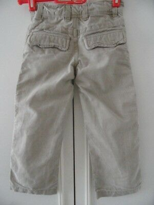 GAP BOY'S 4 yrs STONE THICK COTTON JEANS TROUSERSLARGE POCKETS WRINKLE TYPE VGC 2