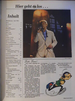 MUSIK SZENE 7- 1983 * Police Iron Maiden David Bowie B-52`s Planet B Ellen Foley 2