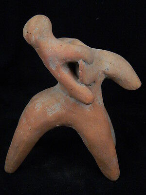 Ancient Teracotta Elephant With Rider Indus Valley 800 BC #TR15101