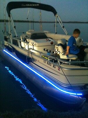 Harris Flotebote Pontoon Boat Green Led Lighting Kit Universal