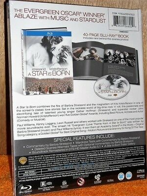 A Star Is Born [1976] (Blu-ray, 2013) NEW Barbara Streisand Kris Kristofferson 2