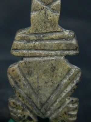 Ancient Shell/Bone Frog Pendant Roman C.200 BC No Reserve #BE5168 2